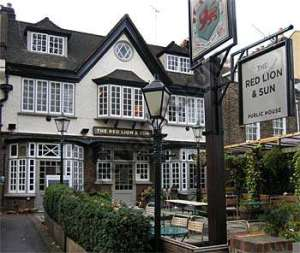 The Red Lion and Sun
